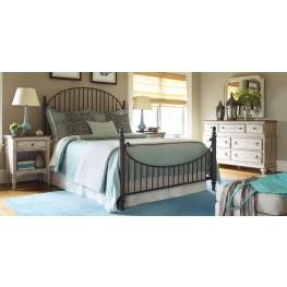 Weatherford Heather Catlins Metal Bedroom Set