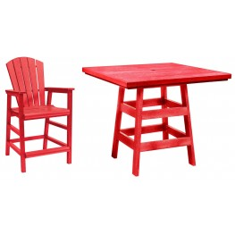 "Generation Red 42"" Square Pub Set"
