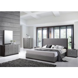 Sorrento Gold Platform Bedroom Set