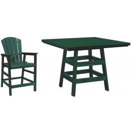 "Generation Green 42"" Square Pub Set"