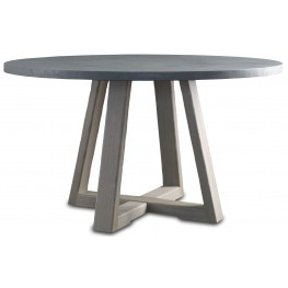 Saratoga Driftwood Round Dining Table