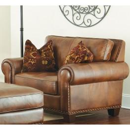 Silverado Caramel Brown Chair From Steve Silver Coleman Furniture