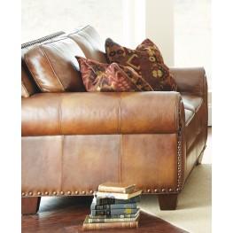 Silverado Caramel Brown Loveseat From Steve Silver Coleman Furniture