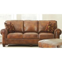 Silverado Caramel Brown Sofa From Steve Silver Coleman Furniture