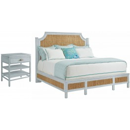 Coastal Living Resort Sea Salt Water Meadow Bedroom Set