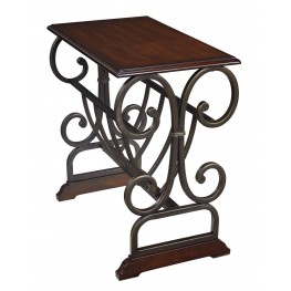 T017-329 Chair Side End Table