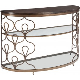 Fraloni Bronze Sofa Table