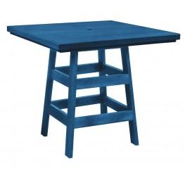 "Generation Blue 42"" Square Pub Table"