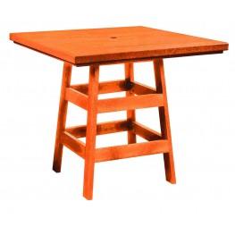 """Generation Orange 42"""" Square Pub Table"""