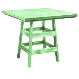 "Generation Lime Green 42"" Square Pub Table"