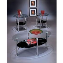 Dempsey Metal 3 Piece Coffee Table Set