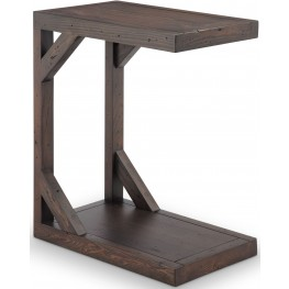 Beck Dark Chocolate Snack Accent Table