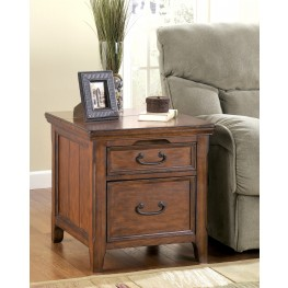 Woodboro Rectangular End Table with  Work Station