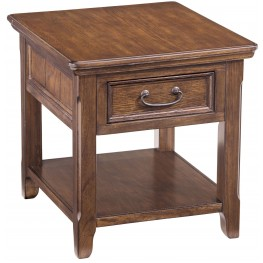 Woodboro Rectangular End Table