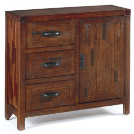 Vennilux Burnished Brown Accent Cabinet
