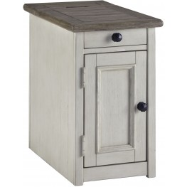 Bolanburg Weathered Gray Chair Side End Table