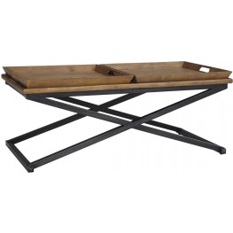 Traxmore Brown Rectangular Cocktail Table