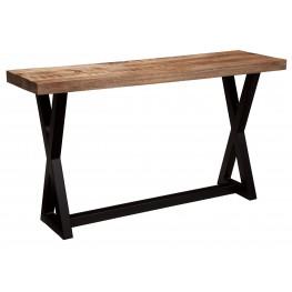 Wesling Light Brown Sofa Table