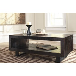 Parlone Deep Brown Occasional Table Set