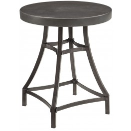Starmore Brown Round End Table