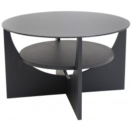 U Shaped Wenge Coffee Table