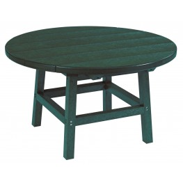 "Generations Green 32"" Round Leg Cocktail Table"