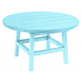 "Generations Aqua 32"" Round Leg Cocktail Table"