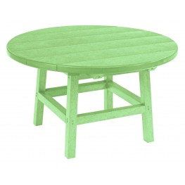 "Generations Lime Green 32"" Round Leg Cocktail Table"