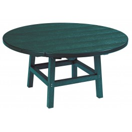 "Generations Green 37"" Round Leg Cocktail Table"