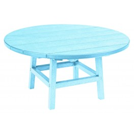"Generations Aqua 37"" Round Leg Cocktail Table"