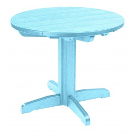 "Generations Aqua 32"" Round Pedestal Dining Table"