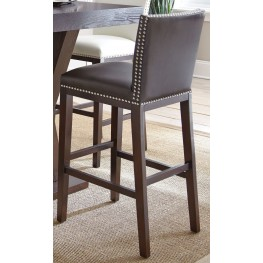 Tiffany Brown Bar Chair Set of 2