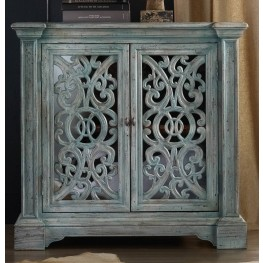 Melange Blue Artesia Chest