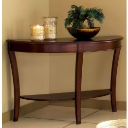 Troy Medium Brown Cherry Sofa Table