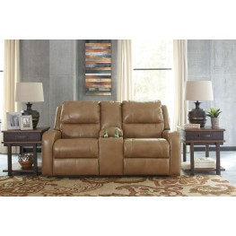 Roogan Blondie Double Reclining Console Loveseat
