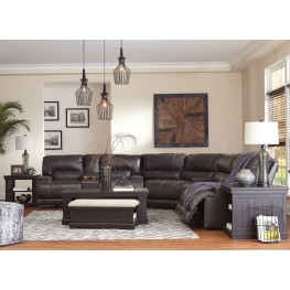 McCaskill Gray Reclining Power Sectional