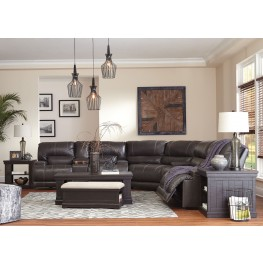 McCaskill Gray Reclining Sectional