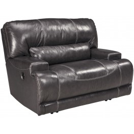 Mccaskill Gray Wide Seat Recliner