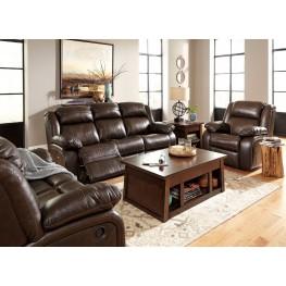 Branton Antique Reclining Living Room Set