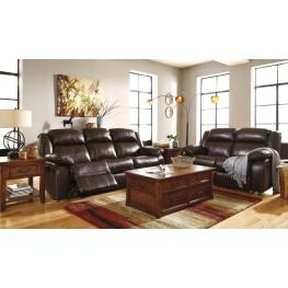 Branton Antique Power Reclining Living Room Set