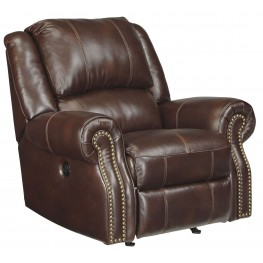 Collinsville Chestnut Rocker Recliner