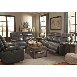 Palladum Metal Reclining Living Room Set