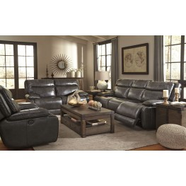 Palladum Metal Power Reclining Living Room Set