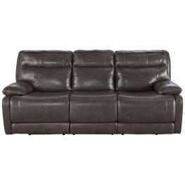Palladum Metal Reclining Sofa