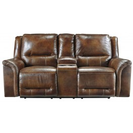 Jayron Harness Double Reclining Loveseat With Console