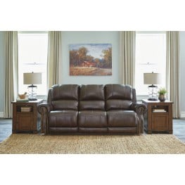 Outstanding Buncrana Chocolate Power Reclining Sofa With Adjustable Headrest Caraccident5 Cool Chair Designs And Ideas Caraccident5Info