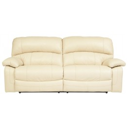 Damacio Cream 2 Seat Reclining Sofa
