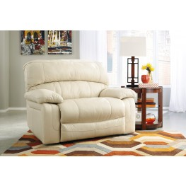 Damacio Cream Zero Wall Wide Seat Recliner