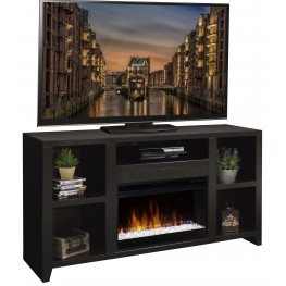 "Urban Loft Mocha 63"" Fireplace Console"