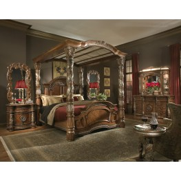 Villa Valencia Canopy Bedroom Set